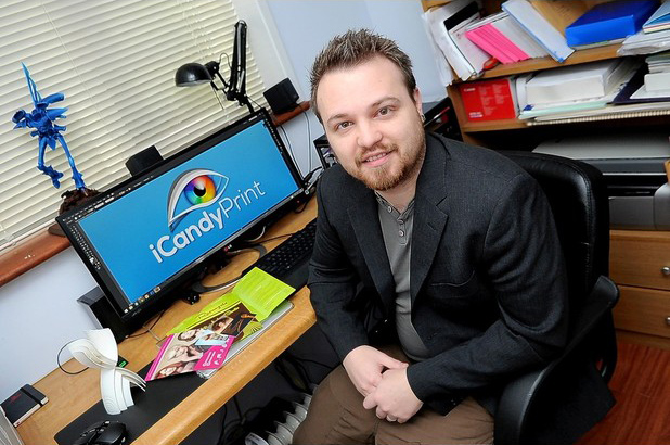 Evening Herald photo of the director