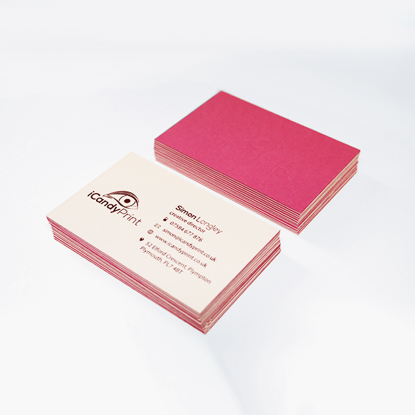 540gsm colorplan luxury business card double sided icandy print 540gsm colorplan luxury business card double sided reheart Image collections